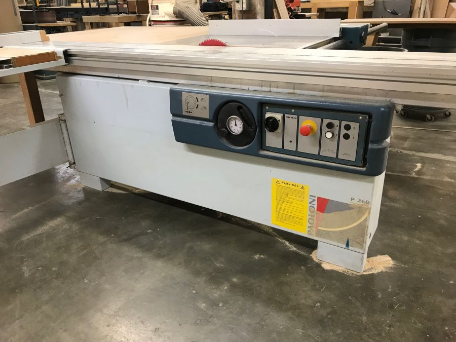Paoloni Sliding Panel Saw for Sale