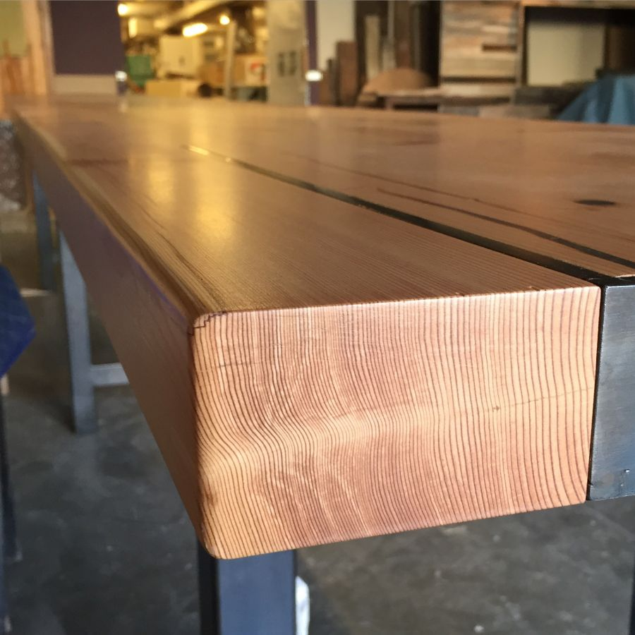 Toasted Reclaimed Douglas Fir (shou Sugi Ban)   Detail From Stage Props For  Specialty Coffee Association Of America Symposium, Seattle 2015